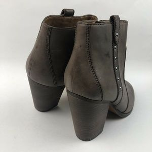 """Coach Shoes - Coach """"Haven"""" Studded Taupe Ankle Booties"""